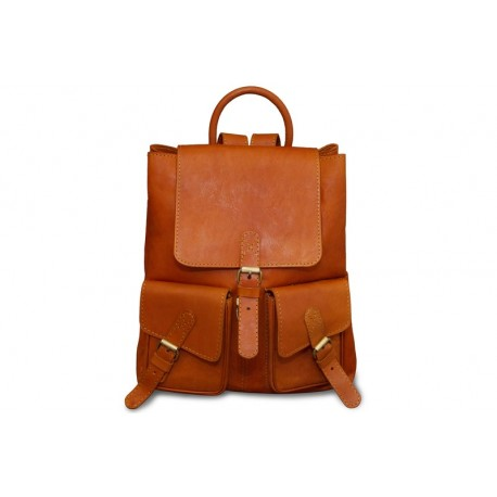 Рюкзак Ashwood leather VIN-927 Vintage Tan
