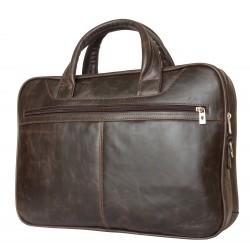 Кожаная сумка для ноутбука Carlo Gattini Montesano 1006-02 коричневая