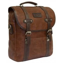 Рюкзак Carlo Gattini Selvatico 3005-03 коньяк/темно-коричневый
