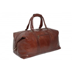 Дорожная сумка Ashwood Leather 2081 Chestnut Brown