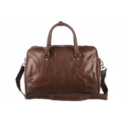 Дорожная сумка Ashwood leather Harry Chestnut Brown