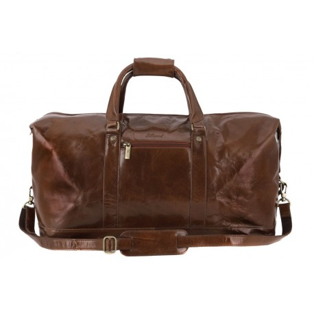 Дорожная сумка Ashwood Leather 2070 Chestnut Brown