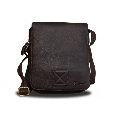 Сумка Ashwood leather Jerry Dark Brown