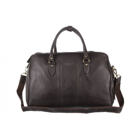 Дорожная сумка Ashwood leather Harry Dark Brown