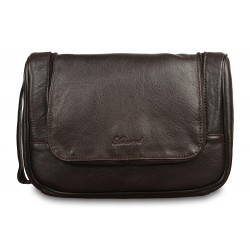 Несессер Ashwood leather 89145 Dark Brown