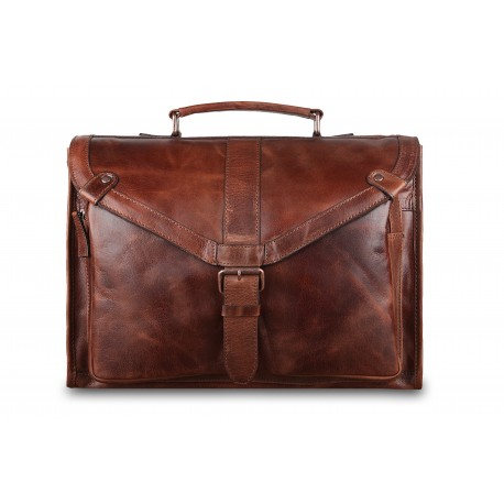 Портфель Ashwood leather Tycho Tan