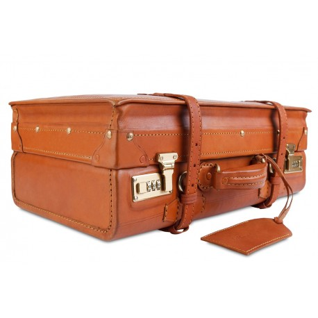 Чемодан Ashwood leather VIN-018 Vintage Tan
