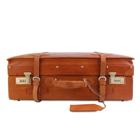 Чемодан Ashwood leather VIN-022 Vintage Tan