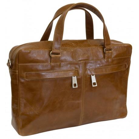 Мужская сумка Carlo Gattini Selvatico 5003-03 Коньяк