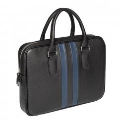 Мужская сумка Gianfranco Bonaventura Massimo Linea Blu синяя