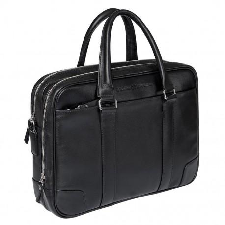 Мужская сумка Gianfranco Bonaventura Marchetti Nero черная
