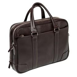 Мужская сумка Gianfranco Bonaventura Marchetti Marrone коричневая