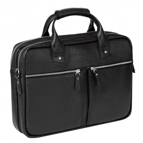 Мужская сумка Gianfranco Bonaventura Giuseppe Nero черная