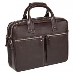 Мужская сумка Gianfranco Bonaventura Giuseppe Marrone коричневая