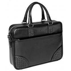 Мужская сумка Gianfranco Bonaventura Alberto Nero черная