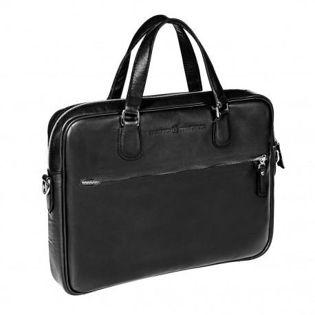 Мужская сумка Gianfranco Bonaventura Gaetano Nero черная