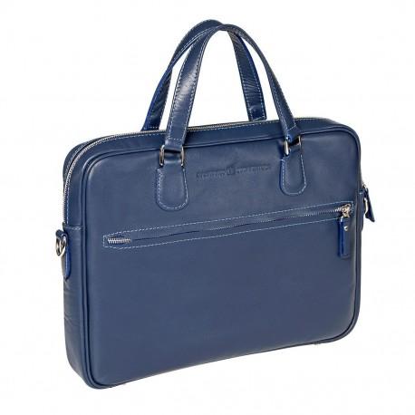 Мужская сумка Gianfranco Bonaventura Gaetano Blu синяя