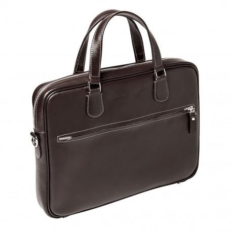 Мужская сумка Gianfranco Bonaventura Gaetano Marrone коричневая
