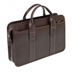 Мужская сумка Gianfranco Bonaventura Cattaneo Marrone коричневая