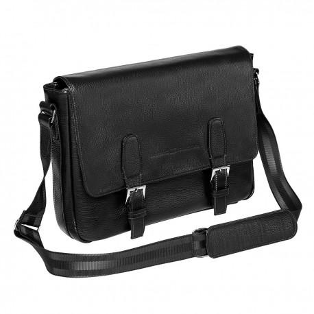 Мужская сумка Gianfranco Bonaventura Salvatore Nero черная
