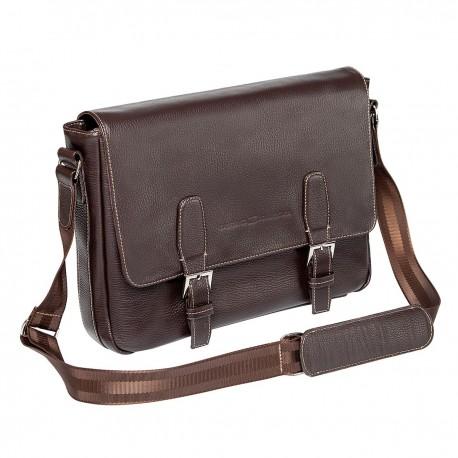 Мужская сумка Gianfranco Bonaventura Salvatore Marrone коричневая