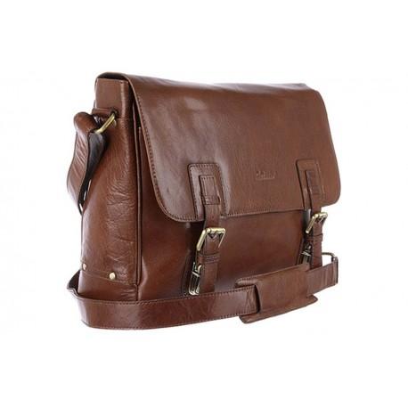 Кожаная сумка Ashwood Leather Jasper Chestnut Brown