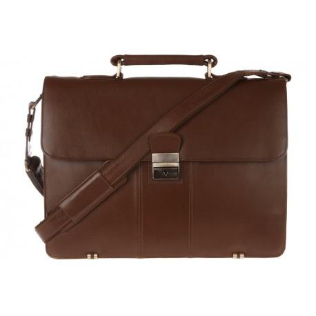 Портфель Visconti 01775 - WARWICK Brown
